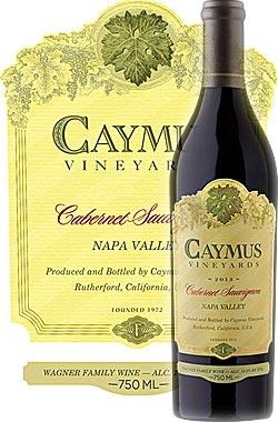 """●正規品《ケイマス》カベルネソーヴィニヨン""""ナパヴァレー""""[2016]CaymusVineyardsCabernetSauvignonNapaValley(RutherfordラザフォードAVA)750ml[ナパバレー赤ワインカリフォルニアワイン]"""
