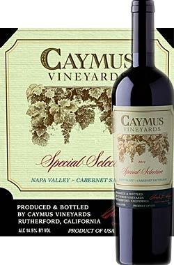 ●正規品 《ケイマス》 スペシャルセレクション (SS) カベルネソーヴィニヨン ナパヴァレー [2014] Caymus Vineyards Special Selection Cabernet Sauvignon Napa Valley (Rutherford ラザフォードAVA) 750ml [ナパバレー赤ワイン カリフォルニアワイン]