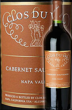 """●正規蔵出し古酒4年号 [1993] [1995] [1996] [2002] 《クロ・デュ・ヴァル》 カベルネソーヴィニヨン """"ナパヴァレー"""" Clos du Val Winery Cabernet Sauvignon Napa Valley 750ml [クロデュヴァル ナパバレー赤ワイン カリフォルニアワイン]"""