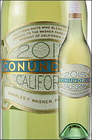 《白コナンドラム by ケイマス》 ホワイト カリフォルニア [2018] (ホワイトブレンド) Conundrum Wines (by Caymus Vineyards) Proprietary White Blend California 750ml (Wagner Family) 白ワイン スクリューキャップ カリフォルニアワイン専門店あとりえ