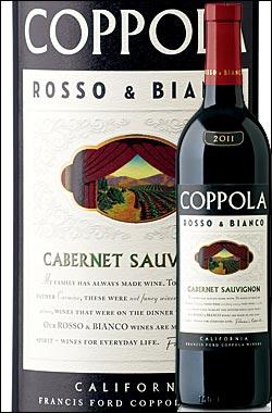 《コッポラ ロッソ&ビアンコ》 カベルネソーヴィニヨン カリフォルニア [2016] フランシスフォードコッポラ ワイナリー Francis Ford Coppola Winery Rosso & Bianco Cabernet Sauvignon California 750ml [赤ワイン カリフォルニアワイン] AF_wineselection