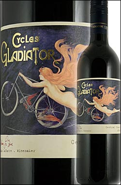 《サイクルズグラディエーター by ハーン》 ジンファンデル カリフォルニア [2014] Cycles Gladiator Zinfandel California 750ml [赤ワイン カリフォルニアワイン] スクリューキャップ