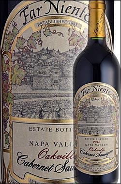《ファーニエンテ》 カベルネソーヴィニヨン エステイト・ボトルド オークヴィル, ナパヴァレー [2014] Far Niente Estate Bottled Cabernet Sauvignon, Napa Valley, Oakville 750ml [カリフォルニアワイン ナパバレー赤ワイン]