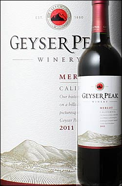●ガイザーピークよりどり6本で送料無料 《ガイザーピーク》 メルロー カリフォルニア [2014] Geyser Peak Winery Merlot California 750ml (アメリカ 海外土産 おみやげ 洋酒 ギフト 贈答 ソノマワイナリー) 赤ワイン カリフォルニアワイン