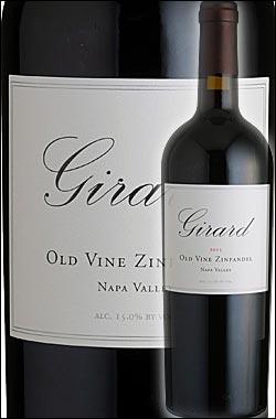 """《ジラード》 オールドヴァイン・ジンファンデル """"ナパ・ヴァレー"""" [2014] Girard Winery Old Vine Zinfandel Napa Valley 750ml [ナパバレー赤ワイン カリフォルニアワイン]"""