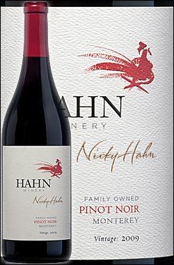 《ハーン》 ピノノワール モントレーカウンティ [2015] Hahn Winery Pinot Noir Monterey County California 750ml [赤ワイン カリフォルニアワイン]