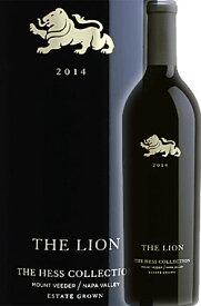 """●蔵出正規品 《ザ・ヘスコレクション》 """"ザ・ライオン"""" カベルネ・ソーヴィニヨン, マウント・ヴィーダー, ナパ・ヴァレー [2014] Hess Collection THE LION Estate Grown Cabernet Sauvignon Mount Veeder, Napa Valley 750ml ナパバレー赤ワイン カリフォルニアワイン"""
