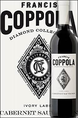 《コッポラ ダイヤモンドコレクション》 カベルネ・ソーヴィニョン カリフォルニア [2016] フランシスフォードコッポラ アイボリーラベル Francis Ford Coppola Winey Diamond Collection Cabernet Sauvignon California Ivory Label 750ml [赤ワイン カリフォルニアワイン]
