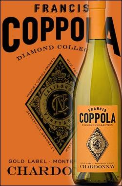 《コッポラ ダイヤモンド・コレクション》 シャルドネ モントレー [2016] フランシスフォードコッポラ ゴールドラベル Francis Ford Coppola Winey Diamond Collection Chardonnay Monterey Gold Label 750ml [白ワイン カリフォルニアワイン]