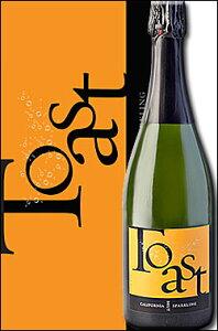 """《ジャム・セラーズ》 """"トースト"""" ブリュット スパークリングワイン, カリフォルニア [NV] (シャルドネ100% メトード シャンプノワーズ ブラン・ド・ブラン) JaM Cellars Toast Sparkling Wine, Californi"""