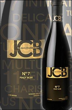《JCB by ジャン・シャルル・ボワセ》 No.7 ピノノワール ソノマコースト [2013] (ジェイシービー) JCB by Jean-Charles Boisset No.7 Pinot Noir Sonoma Coast, Sonoma Collection ジェーシービー750ml [赤ワイン] [カリフォルニアワイン]