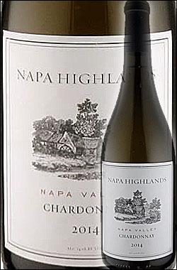 """《ナパハイランズ》 シャルドネ """"ナパヴァレー"""" [2016] Napa Highlands Chardonnay Napa Valley 750ml [カリフォルニアワイン ナパバレー白ワイン] 送料:常温便590円/クール便850円(共に税込) 同梱12本迄同一"""