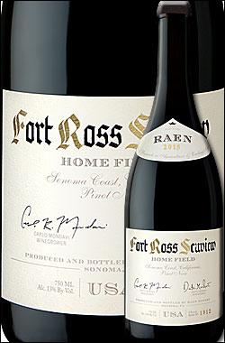 """《レイン》 ピノノワール """"ホームフィールド・ヴィンヤード"""" フォートロスシーヴュー, ソノマコースト [2016] RAEN winery Pinot Noir HOME FIELD VINEYARD, Fort Ross-Seaview, Sonoma Coast 750ml [赤ワイン カリフォルニアワイン]"""
