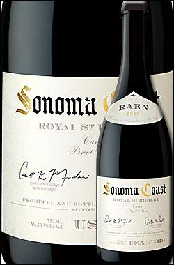 """《レイン》 ピノノワール """"ロイヤル・セント・ロバート・キュヴェ"""" ソノマコースト (グリーンヴァレー) [2016] RAEN winery Pinot Noir ROYAL ST. ROBERT CUVEE, Sonoma Coast (Green Valley) 750ml [赤ワイン カリフォルニアワイン]"""