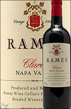 《レイミー》 クラレット ナパヴァレー [2015] (カベルネソーヴィニヨン主体) Ramey Wine Cellars Claret Napa Valley (Cabernet Sauvignon)レミー750ml [赤ワイン カリフォルニアワイン ナパバレー]