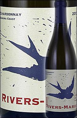 """《リヴァース・マリー》 シャルドネ """"ソノマ・コースト"""" [2015] Rivers-Marie Chardonnay Sonoma Coast 750ml [ティエリオット+ジョイロード+ラッキーウェル+リドルランチ カリフォルニアワイン リヴァースマリー白ワイン]"""