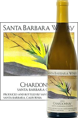《サンタバーバラ・ワイナリー》 シャルドネ サンタ バーバラ・カウンティ [2015] Santa Barbara Winery Chardonnay Santa Barbara County 750ml[白ワイン] [カリフォルニアワイン]