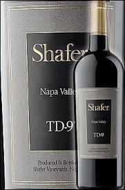 """《シェイファー》 """"TD-9"""" ナパヴァレー [2018] Shafer Vineyards TD9 Napa Valley Proprietary Red (Merlot, Cabernet Sauvignon, Malbec) シェーファー ティーディーナイン750ml メルロー+カベルネソーヴィニヨン他 カリフォルニアワイン ナパバレー赤ワイン"""