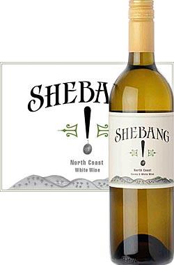 《シェバング by ベッドロック》 ホワイトワイン ノースコースト [NV] Sherman & Hooker's Shebang! White Wine by Bedrock Wine Co's Morgan Twain Peterson 750ml [白ワイン カリフォルニアワイン] シャーマン&フッカーズ ※スクリューキャップ