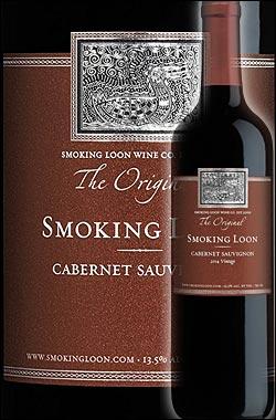 《スモーキングルーン》 カベルネソーヴィニヨン カリフォルニア [2015] Don Sebastiani & Sons Smoking Loon Wine Cabernet Sauvignon California 750ml [ドン セバスチャーニ&サンズ赤ワイン カリフォルニアワイン] スクリューキャップ