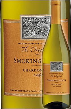 《スモーキングルーン》 シャルドネ (フレンチオーク樽発酵100%版) カリフォルニア [2015] (ドン・セバスチャーニ&サンズ) Smoking Loon Wine Co. Chardonnay California (by Don Sebastiani & Sons) 750ml [白ワイン カリフォルニアワイン]