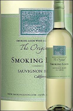 《スモーキングルーン》 ソーヴィニョンブラン カリフォルニア [2016] (ドン・セバスチャーニ&サンズ) Smoking Loon Wine Co. Sauvignon Blanc California (by Don Sebastiani & Sons) 750ml [白ワイン カリフォルニアワイン] スクリューキャップ
