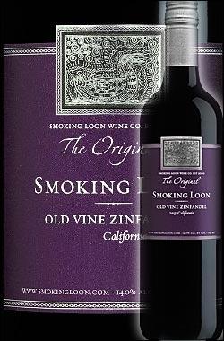 《スモーキングルーン》 オールドヴァイン・ジンファンデル カリフォルニア (ロダイ+パソロブレス) [2015] Don Sebastiani & Sons Smoking Loon Wine Old Vine Zinfandel California 750ml [ドン セバスチャーニ&サンズ赤ワイン カリフォルニアワイン] スクリューキャップ