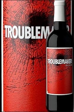 ●ラベル損傷ワケアリ品 《トラブルメーカー》 セントラルコースト (シラー+グルナッシュ+ジンファンデルetc.) NV, Hope Family Wines TROUBLEMAKER Central Coast 750ml ケイマス旧2'ndリバティースクール系ホープファミリー フルボディ赤ワイン