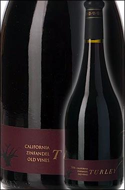 ● 正規蔵出品 《ターリー・ワインセラーズ》 オールドヴァインズ・ジンファンデル カリフォルニア [2015] Turley Wine Cellars Old Vines Zinfandel California 750ml [赤ワイン カリフォルニアワイン]