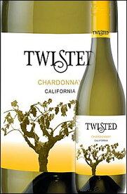《ツイステッド》 シャルドネ カリフォルニア [NV] Twisted Wines Chardonnay California 750ml※スクリューキャップ [ツイスティッド白ワイン カリフォルニアワイン専門店あとりえ 父の日 誕生日プレゼント