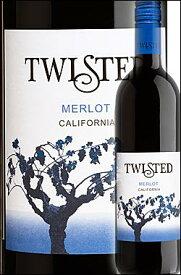 《ツイステッド》 メルロー カリフォルニア [2017] Twisted Wines Merlot California 750ml※スクリューキャップ ツイスティッド赤ワイン カリフォルニアワイン専門店あとりえ 敬老の日 誕生日プレゼント