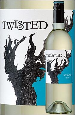 《ツイステッド》モスカートカリフォルニア[2010]TwistedWinesMoscatoCalifornia750ml[白ワイン][カリフォルニアワイン]