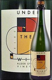 """《アンダー・ザ・ワイヤー》 ブリュット スパークリングワイン """"ピノノワール ロゼ"""" [2016] or """"シャルドネ ブランドブラン"""" アルダースプリングス, アンダーソンヴァレー [2015] Under the Wire Sparkling Wine ROSE, BdB Alder Springs 750ml (ベッドロック Bedrock)"""