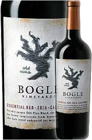 《ボーグル》 エッセンシャル・レッド カリフォルニア [2017] (ジンファンデル+シラー+カベルネソーヴィニヨン+プティシラー) Bogle Vineyards Essential Red California 750ml (Old Vine Zinfandel, Syrah, Cabernet Sauvignon & Petite Sirah) カリフォルニアワイン