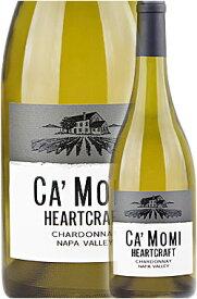 """《カモミ》 シャルドネ """"ハートクラフト"""" ナパヴァレー [2019] Ca' Momi Winery HEERTCRAFT Chardonnay, Napa Valley 750ml Camomiナパバレー白ワイン カリフォルニアワイン専門店あとりえ 父の日 誕生日プレゼント"""