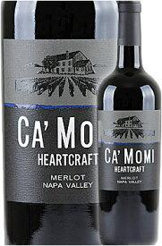 """《カモミ》 メルロー """"ハートクラフト"""" ナパヴァレー [2019] Ca' Momi Winery HEERTCRAFT Merlot Napa Valley 750ml Camomiナパバレー赤ワイン カリフォルニアワイン専門店あとりえ 敬老の日 誕生日プレゼント"""