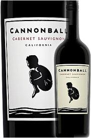 《キャノンボール》 カベルネ・ソーヴィニヨン カリフォルニア [2017] Cannonball Wine Company Cabernet Sauvignon California 750ml 赤ワイン ※スクリューキャップ仕様 カリフォルニアワインあとりえ×立花峰夫ゴッドブレスアメリカワインズ -GOD BLESS AMERICA WINES-