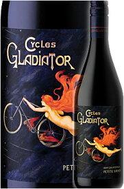 《サイクルズグラディエーター by ハーン》 プティシラー カリフォルニア [2015] Cycles Gladiator Petite Sirah California by Hahn Family Wines 750ml プティットシラー赤ワイン ※スクリューキャップ カリフォルニアワイン専門店あとりえ プレゼントにも