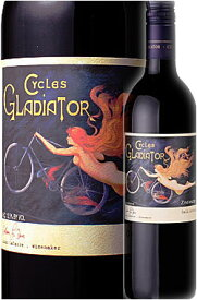 《サイクルズグラディエーター by ハーン》 ジンファンデル カリフォルニア [2019] Cycles Gladiator Zinfandel California by Hahn Family Wines 750ml 赤ワイン ※スクリューキャップ カリフォルニアワイン専門店あとりえ お中元 誕生日プレゼント