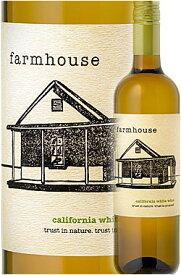 """《クライン・セラーズ》 """"ファームハウス ホワイト"""" カリフォルニア [2019] Cline Cellars Farmhouse White California 750ml 白ワイン カリフォルニアワイン専門店あとりえ ご贈答ギフトお土産 敬老の日 誕生日プレゼント スクリューキャップ仕様"""
