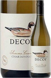 """《デコイ (ダックホーン)》 シャルドネ """"ソノマ・カウンティ"""" [2019] Duckhorn Wine Company DECOY Chardonnay Sonoma County 750ml 白ワイン スクリューキャップ] カリフォルニアワイン専門店あとりえ 父の日 誕生日プレゼント"""