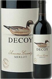 """《デコイ (ダックホーン)》 メルロー """"ソノマ・カウンティ"""" [2018] Duckhorn Wine Company DECOY Merlot Sonoma County 750ml 赤ワイン] カリフォルニアワイン専門店あとりえ 敬老の日 誕生日プレゼント"""