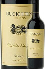 """正規品●2017年ワインオブザイヤー銘柄最新作《ダックホーン》 メルロー """"スリーパームス・ヴィンヤード"""" カリストガ, ナパ・ヴァレー [2017] Duckhorn Vineyards Merlot Three Palms Vineyard, Calistoga, Napa Valley 750ml ナパバレー赤ワイン カリフォルニアワイン"""