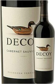 """《デコイ (ダックホーン)》 カベルネソーヴィニヨン """"カリフォルニア"""" [2018] Duckhorn Wine Company DECOY Cabernet Sauvignon California 750ml 旧ソノマカウンティ赤ワイン カリフォルニアワイン専門店あとりえ 敬老の日 誕生日プレゼント"""