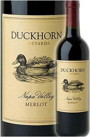 """《ダックホーン》 メルロー """"ナパ・ヴァレー"""" [2018] Duckhorn Vineyards Wine Company Merlot Napa Valley 750ml ナパバレー赤ワイン カリフォルニアワイン専門店あとりえ ギフト贈り物敬老の日 高級誕生日プレゼント"""