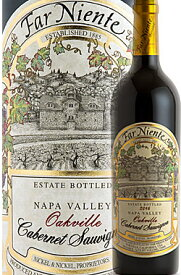 """《ファーニエンテ》 カベルネソーヴィニヨン """"オークヴィル・エステイト"""" ナパヴァレー [2017] Far Niente Winery Estate Bottled Cabernet Sauvignon Oakville Napa Valley Established 1885 Nickel&Nickel Proprietors 750ml カリフォルニア ナパバレー赤ワイン"""