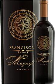 """●国内最上位版《フランシスカン》 """"マニフィカ"""" ナパヴァレー [2015] Franciscan Estate MAGNIFICAT Napa Valley 750ml カベルネソーヴィニヨン主体ナパバレー赤ワイン フランシスカン各種6本で送料込み カリフォルニアワイン専門店あとりえ 高級"""