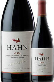 """《ハーン》 GSM """"セントラルコースト"""" [2019] Hahn Winery GSM Red Blend Central Coast 750ml (レッドブレンド:グルナッシュ Grenache - シラー Syrah - ムールヴェードル Mourvedre/ジーエスエム) 赤ワイン カリフォルニアワイン専門店あとりえ 誕生日プレゼント"""