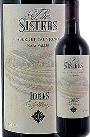 """《ジョーンズ・ファミリー》 カベルネ・ソーヴィニヨン """"ザ・シスターズ"""" ナパ・ヴァレー (カリストガ) [2014] Jones Family Vineyards Cabernet Sauvignon THE SISTERS Calistoga, Napa Valley 750ml ナパバレー赤ワイン カリフォルニアプレミアムワイン 正規品"""