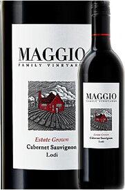 《マッジオ》 カベルネ・ソーヴィニヨン ロダイ [2018]|メルロー|シャルドネ|ピノノワール|オールドヴァイン ジンファンデル MAGGIO FAMILY VINEYARDS Estate Grown Cabernet Sauvignon Lodi, California 750ml スクリューキャップ白赤ワイン カリフォルニアワイン専門店
